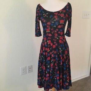 LULAROE Nicole Dress, Sz XS